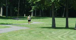 Jogging in Fairfield's parks is a great way to stay in shape and enjoy the outdoors.
